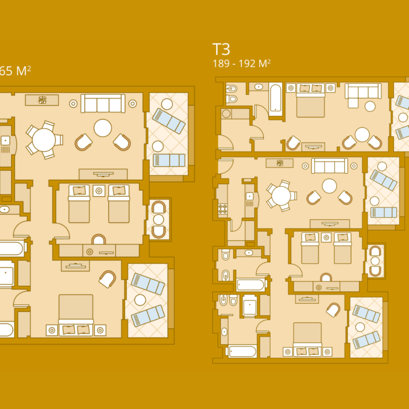 Luxury Residence Floor Plan
