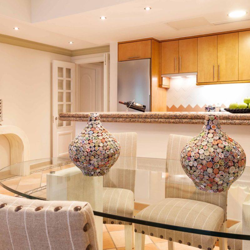 Luxury Suites Kitchen